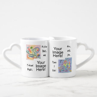 Festive Days Jubilant Nights with You Lovers' Mugs