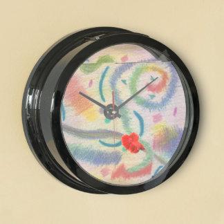 Festive Days Under the Sun Betta Aqua Clock