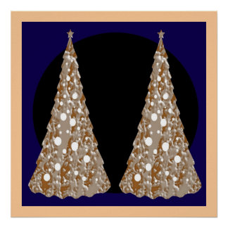 Festive decorations -  Lights Ornaments Trees Posters