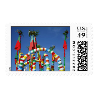 Festive decorations postage