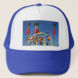 Festive decorations trucker hat