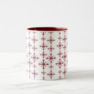 Festive design Two-Tone coffee mug