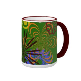 FESTIVE DESIGNS RINGER COFFEE MUG