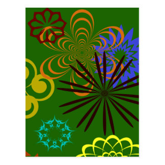 FESTIVE DESIGNS POST CARD