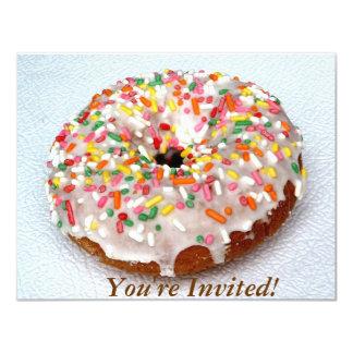 Festive Donut 4.25x5.5 Paper Invitation Card