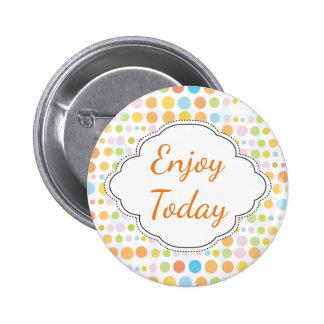 Festive Dots Pinback Button