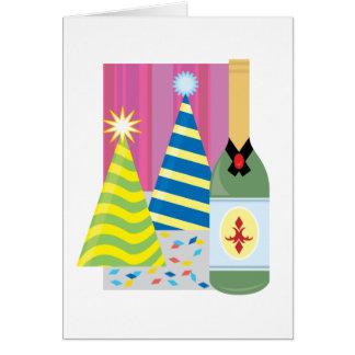 Festive Drinks Greeting Card