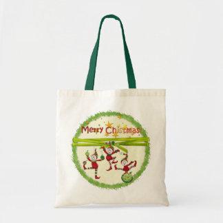 Festive Elves Christmas Gift Bags