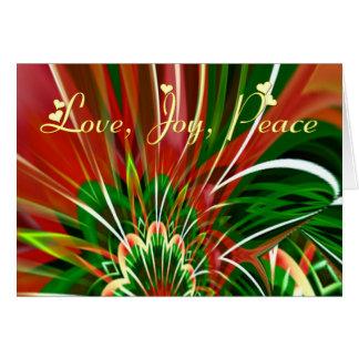 Festive exhuberance card