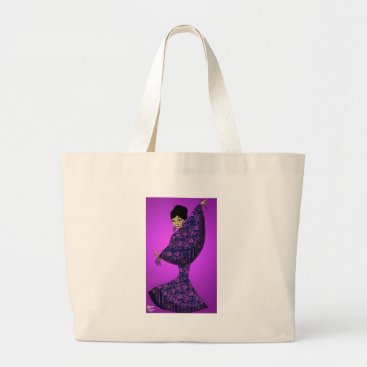 jasmineflynn Festive Fashion Large Tote Bag