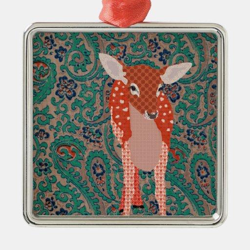 Festive Fawn Ornament