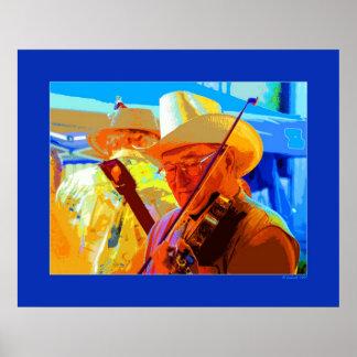 Festive Fiddler Poster