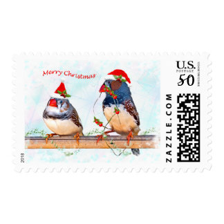 Festive Finches Postage