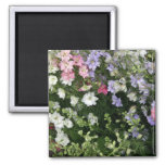 Festive Flower Garden Refrigerator Magnet