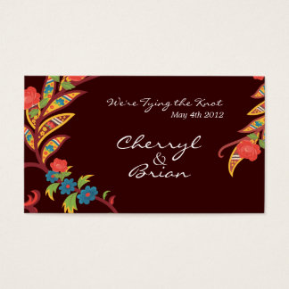 Festive Flowers Business Card