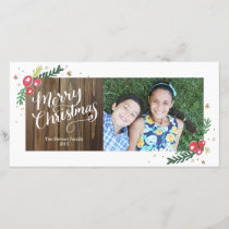 Festive Foliage Collection Holiday Card