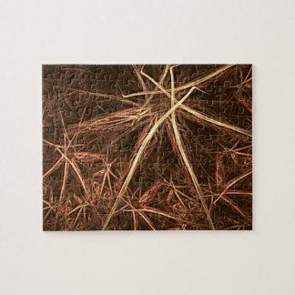 Festive fractal straw stars jigsaw puzzle
