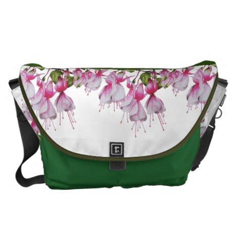 'Festive Fuchsias' on a Bag