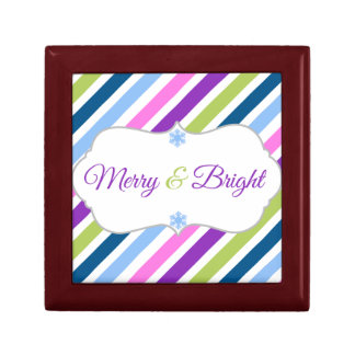 Festive Fun Merry and Bright Holiday Gift Box