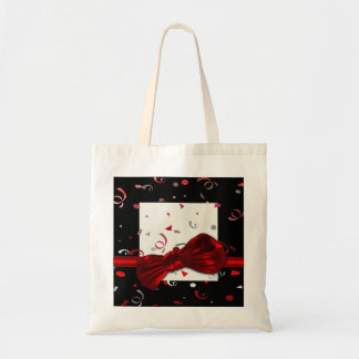 Festive, fun, party tote bags