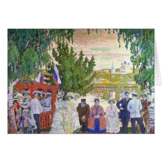 Festive Gathering, 1910 Card