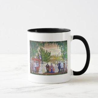 Festive Gathering, 1910 Mug