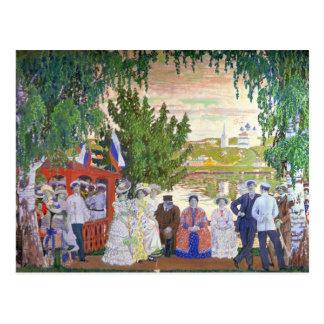 Festive Gathering, 1910 Postcard