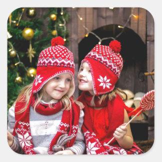 Festive Gifts Square Sticker