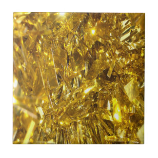 Festive Gold Foil Tiles