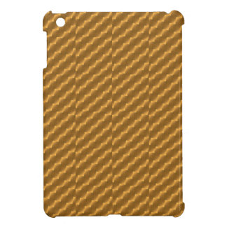 Festive, golden pattern iPad mini cases