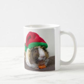 Festive Guinea pig mug