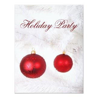 """festive Holiday Party Invitations 4.25"""" X 5.5"""" Invitation Card"""