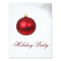 festive Holiday Party Invitations