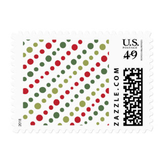 Festive Holiday Postage