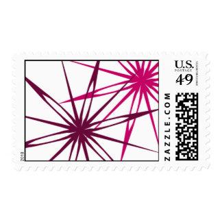 Festive Holiday Postage Stamp