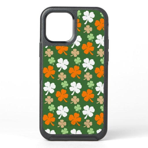 Festive Irish Four Leaf Clover iPhone Case