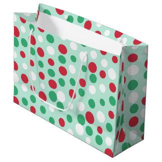 Festive Jolly Dots Gift Bag