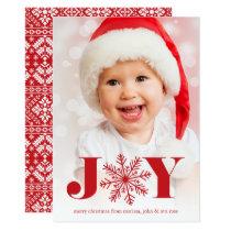 Festive Joy | Holiday Photo Card