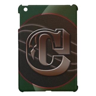 festive leather iPad mini case