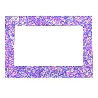 Festive Lines Magnetic Photo Frame
