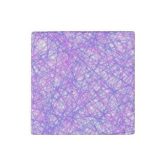 Festive Lines Stone Magnet