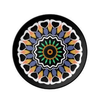 Festive Mandala Plate