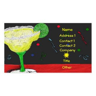 Festive Margarita Business/Profile Card Business Cards