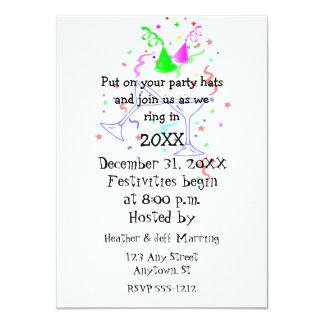 Festive New Year's Party Invitation