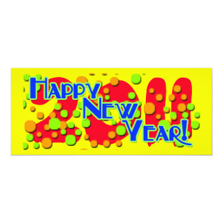 Festive New Year's Party Invitations