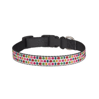 Festive Ornament Pattern Dog Collar