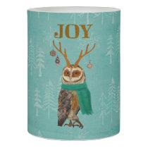FESTIVE OWL Candle