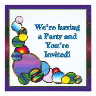 Festive Party Invitation