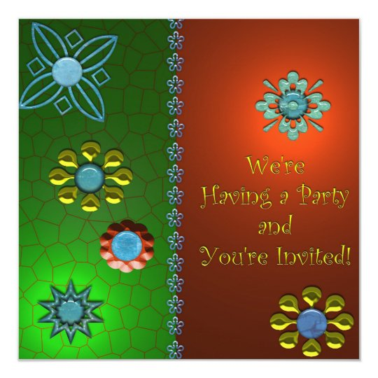 Festive Party Invitation