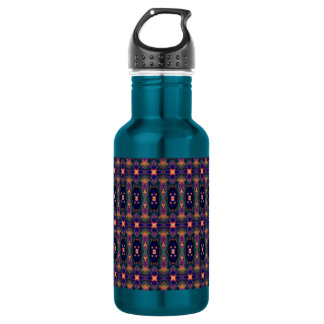 Festive Pattern Water Bottle